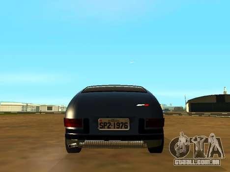 Volkswagen SP2 Original para GTA San Andreas vista interior