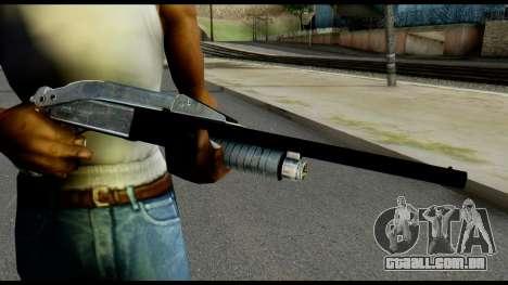 Pump Shotgun from Max Payne para GTA San Andreas terceira tela