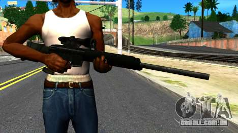 Sniper Rifle from GTA 4 para GTA San Andreas terceira tela
