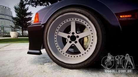 BMW E36 M3 Duck Edition para GTA 4 vista de volta