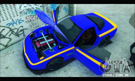 Coquette (GTA IV) para GTA San Andreas vista direita