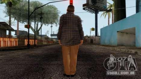 GTA 4 Skin 72 para GTA San Andreas segunda tela