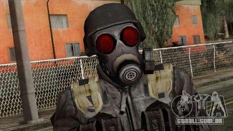 Resident Evil Skin 3 para GTA San Andreas terceira tela