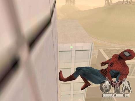 Spiderman 3 Crawling para GTA San Andreas segunda tela