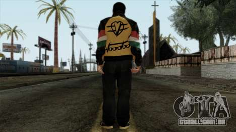 GTA 4 Skin 67 para GTA San Andreas segunda tela