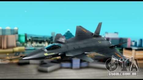 Chenyang J-20 BF4 para GTA San Andreas