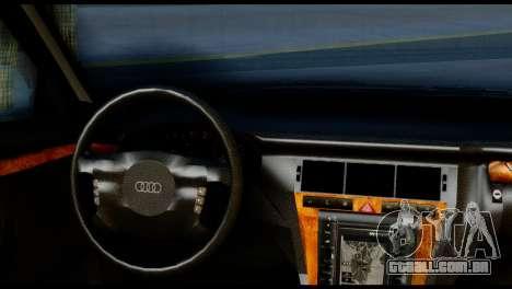 Audi A8 2002 para GTA San Andreas traseira esquerda vista