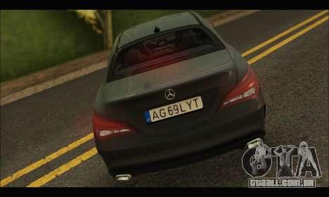 Mercedes Benz CLA 250 2014 para GTA San Andreas vista direita