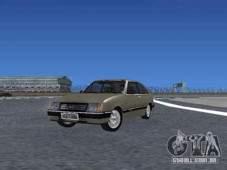 Chevrolet Chevette Hatch para GTA San Andreas interior