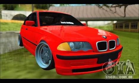 BMW e46 Sedan V2 para GTA San Andreas