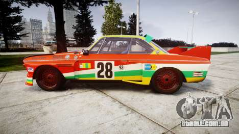 BMW 3.0 CSL Group4 [28] para GTA 4 esquerda vista