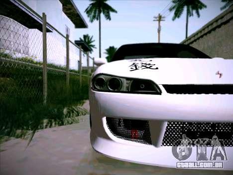 Nissan Silvia S15 Roux para GTA San Andreas vista interior
