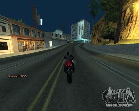 Car Speed para GTA San Andreas sexta tela