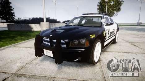 Dodge Charger SRT8 2010 Sheriff [ELS] rambar para GTA 4