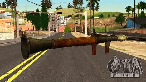 Rocket Launcher from GTA 4 para GTA San Andreas segunda tela