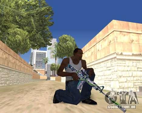 Graffity weapons para GTA San Andreas sétima tela