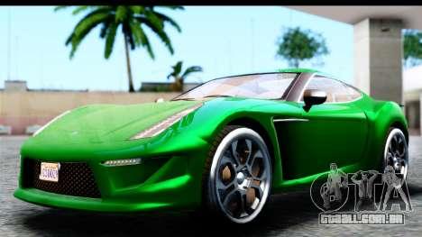 GTA 5 Grotti Carbonizzare v3 SA Mobile para GTA San Andreas traseira esquerda vista