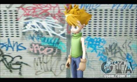 Yamato Ishida (Digimon) para GTA San Andreas