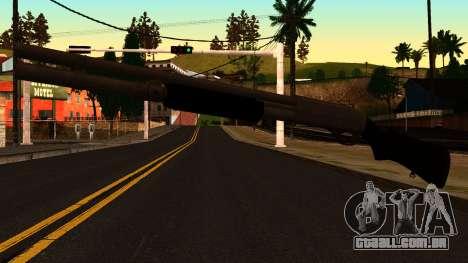 Preto MP-133 Prata para GTA San Andreas