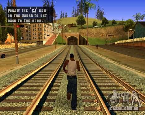 Colormod Dark Low para GTA San Andreas segunda tela