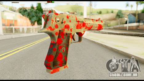 Desert Eagle with Blood para GTA San Andreas segunda tela
