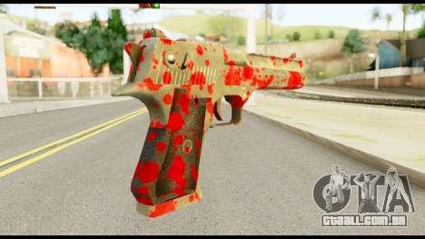 Desert Eagle with Blood para GTA San Andreas segunda tela