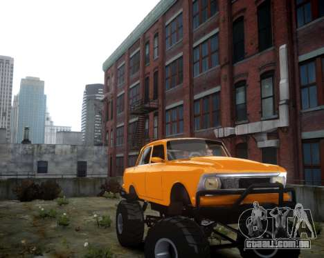 Moskvich 412 Monstro para GTA 4 esquerda vista