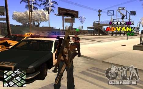 C-HUD Advance RP para GTA San Andreas segunda tela