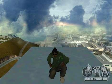 Ryder Skin Grove St. Family para GTA San Andreas terceira tela