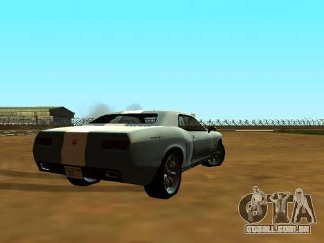 GTA 5 Bravado Gauntlet para GTA San Andreas vista inferior