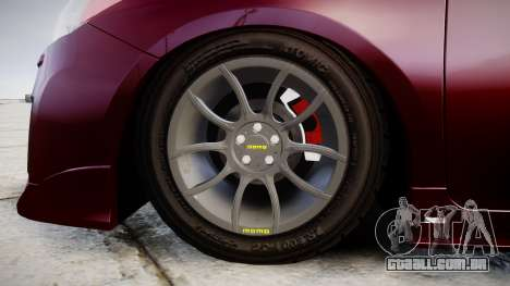 Toyota Prius para GTA 4 vista de volta