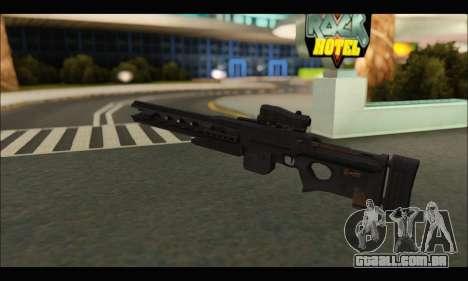 BF4 Final Stand DLC Rorsch Mk-1 para GTA San Andreas terceira tela