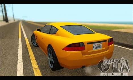 Ocelot  F620 (GTA V) para GTA San Andreas traseira esquerda vista
