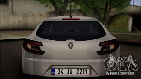 Renault Megane Sport Tourer 1.5 DCI 2011 para GTA San Andreas vista direita