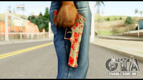 Desert Eagle with Blood para GTA San Andreas terceira tela