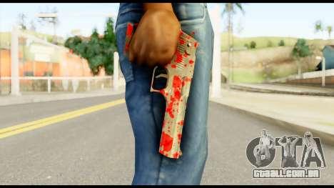 Desert Eagle with Blood para GTA San Andreas terceira tela