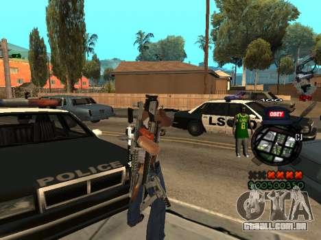 C-HUD Sweet para GTA San Andreas segunda tela