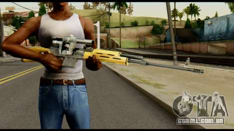 SVD from Max Payne para GTA San Andreas terceira tela