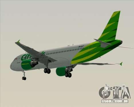 Airbus A320-200 Citilink para GTA San Andreas vista direita