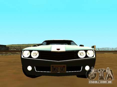 GTA 5 Bravado Gauntlet para GTA San Andreas vista traseira