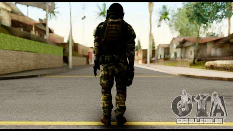 Support Troop from Battlefield 4 v2 para GTA San Andreas segunda tela