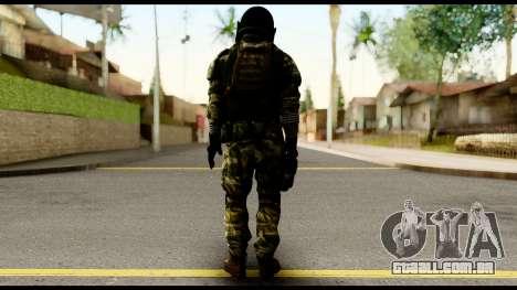 Support Troop from Battlefield 4 v2 para GTA San Andreas segunda tela