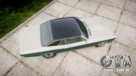 GTA V Albany Buccaneer paint1 para GTA 4 vista direita