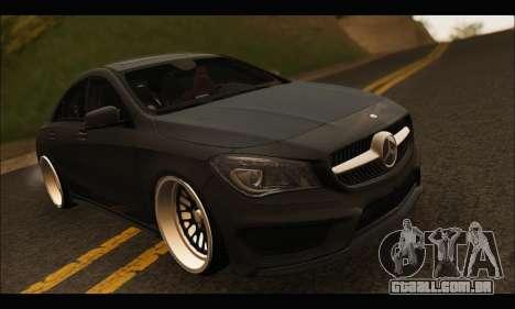 Mercedes Benz CLA 250 2014 para GTA San Andreas vista interior