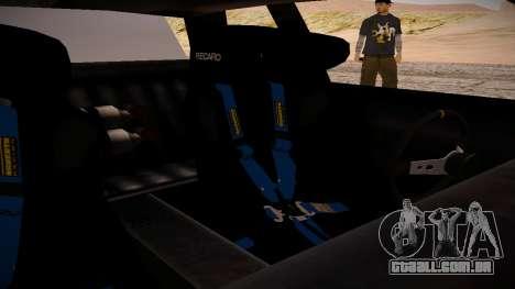 Manana BOOM para GTA San Andreas vista direita