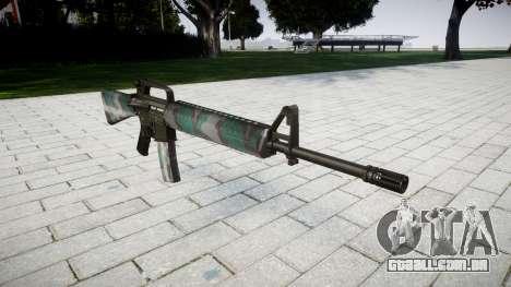 O M16A2 rifle de varsóvia para GTA 4
