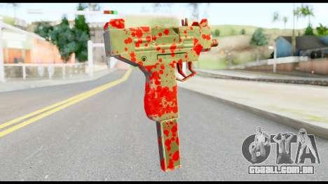 Micro SMG with Blood para GTA San Andreas