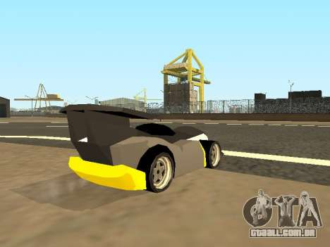 RC Bandit (Automotive) para GTA San Andreas esquerda vista