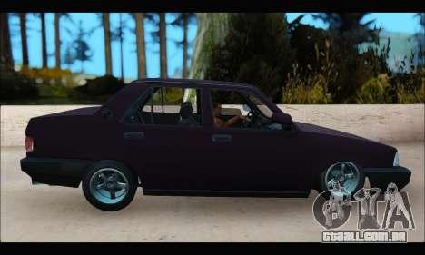 Tofas Dogan S para GTA San Andreas esquerda vista
