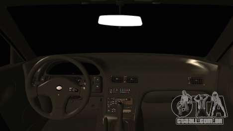 Nissan Silvia S13 Sileighty Drift Moster para GTA San Andreas traseira esquerda vista